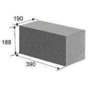 Блок фундаментный (20х20х40 см)