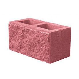 Блок колотый Камень 2-х пустотный, цветной