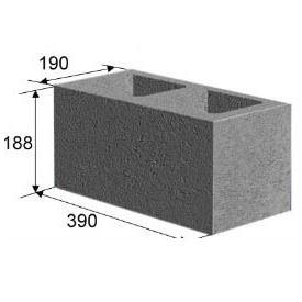 Камень строительный стеновой (с усиленным дном)