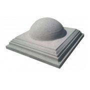 Крышки на столбы «Полусфера»